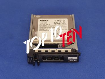 "DELL 146GB 2,5"" 10K 6Gbs SAS HDD Festplatte 0X160K X160K für PowerEdge 1900 2900 1950 2950"