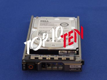 "DELL 055RMX PowerVault MD1200/3200/3200i HDD 500GB 6G 7,2K 2,5"" SAS Festplatte"