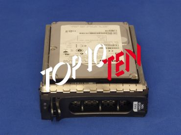 "DELL 0M8033 PowerEdge 1900/2900/1950/2950 146GB 10K 3,5"" LFF SAS HDD Festplatte"