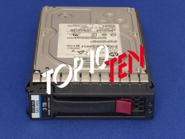 "HP 625140-001 625031-B21 3TB 3,5"" LFF 7,2K 6Gb/s SAS MDL ProLiant G1 G7 Hot-Plug HDD Festplatte"