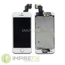 Display für iPhone 5S Weiss VORMONTIERT