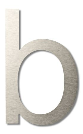 "Hausbuchstabe ""b"" groß 20 cm"