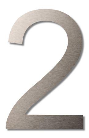"""Hausnummer """"2"""" groß 20cm"""