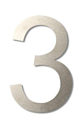 """Hausnummer """"3"""" groß 20cm"""