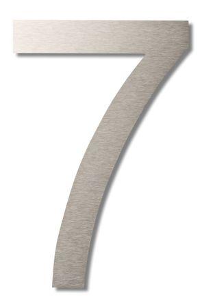 """Hausnummer """"7"""" groß 20cm"""