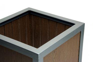 Pflanzkübel cubus wood – Bild 2