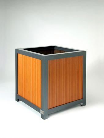 Pflanzkübel cubus wood – Bild 1