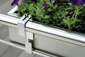 Balkonkasten Edelstahl 520 – Bild 2