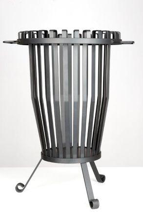 Feuerkorb aus Stahl  – Bild 1