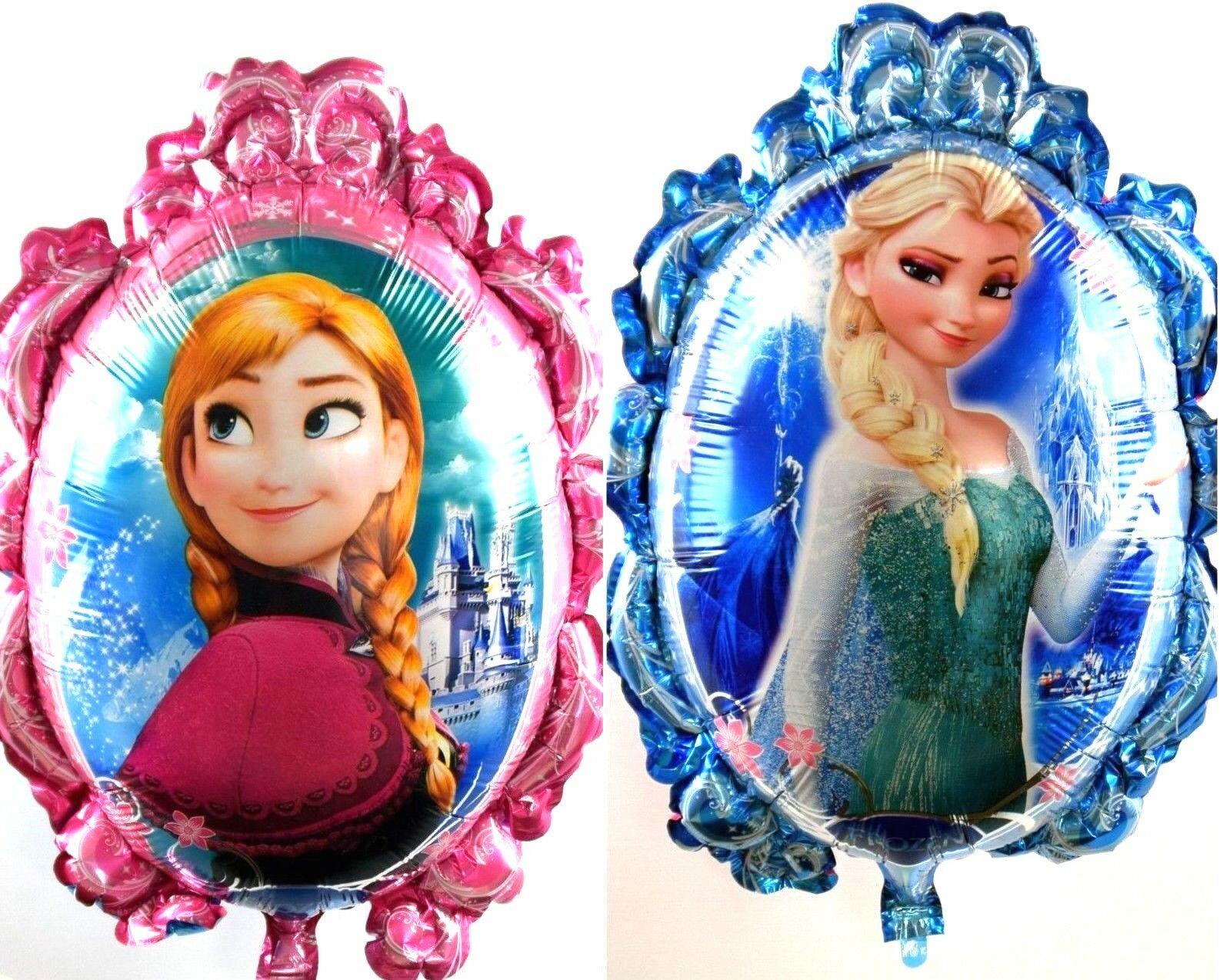 R1f6 Folienballon Helium Luftballon Elsa Anna Olaf Frozen