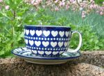 XL cup with saucer, 375 ml vol., I love you too, BSN m-998