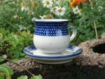 Espresso cup and saucer 70 - 80 ml, unique 18, BSN m-1079