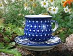 Espresso cup and saucer 70 - 80 ml, unique 22, BSN m-1080