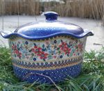 Casserole oval with cover, 16 cm height, Ø 34 x 26 cm, signature 6, BSN m-1990 Picture 3