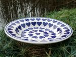 Dreamlike pasta plate polish pottery, ceramics with heart, BSN m-2449 Picture 2