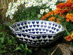 Bowl, Ø 32 cm, ↑10 cm, Ceramics with heart, BSN m-3483 Picture 2