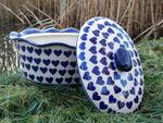 Casseruola ovale con coperchio, 34 x 26 cm, alto 16cm, Ceramica con il cuore, BSN 99007 Immagine 2