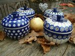 4 x baking tin for apple, Tradition 5, 6, 10, 13 - polish pottery - BSN 6853 Picture 4