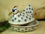 Chicken as egg cosy, 2. choice, 17 x 11 cm, 14 cm high, Tradition 3 - BSN 2246 Picture 2