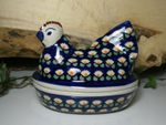 Chicken as egg cosy, 2. choice, 17 x 11 cm, 14 cm high, Tradition 83 - BSN 62820