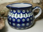 Jug, volume 500 ml, 9 cm high, Tradition 10 - polish pottery - BSN 7391