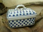Box dish for butter, 250 g, Tradition 24 - polish pottery - BSN 7718