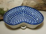 Heart baking tin, 21 x 18 cm, 6 cm high, Tradition 4 - polish pottery - BSN 7378 Picture 2