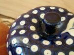 Baking tin for apple, Ø 12 cm, 12 cm high, Tradition 11 - polish pottery - BSN 4882 Picture 2
