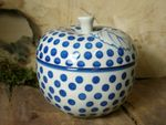 Baking tin for apple, Ø 12 cm, 12 cm high, Tradition 24 - polish pottery - BSN 6501 Picture 2