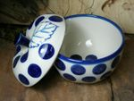 Baking tin for apple, Ø 12 cm, 12 cm high, Tradition 28 - polish pottery - BSN 6498 Picture 2