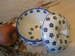 Baking tin for apple, Ø 12 cm, 12 cm high, Tradition 3 - polish pottery - BSN 4878 Picture 2