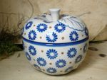 Baking tin for apple, Ø 12 cm, 12 cm high, Tradition 39 - polish pottery - BSN 6499