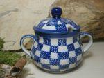 Sugar bowl (200 ml) or jam pot - Tradition 27 - polish pottery - BSN 7660