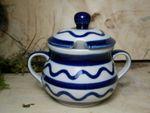 Sugar bowl (200 ml) or jam pot - Tradition 29 - polish pottery - BSN 22141