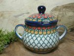 Zuckerdose, 200 ml, Unikat 1, polish pottery - BSN 10309 001