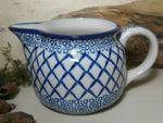 Jug, volume 700 ml, 16 cm high, Tradition 2 - polish pottery - BSN 5388