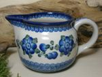 Jug, volume 700 ml, 10 cm high, Tradition 9 - polish pottery - BSN 5392