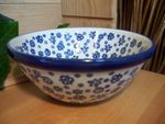 Bowl, 17 cm Ø, 8 cm high, Tradition 12 - polish pottery - BSN 5517 Picture 1