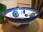 Bowl, 17 cm Ø, 8 cm high, Tradition 9 - polish pottery - BSN 5516 Picture 3