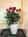 Vase, 32 cm  - White Valentine, BSN R-045 Picture 2