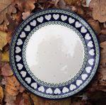Plaat (Ontbijt cake diner) Ø20 cm - White Valentine, BSN R-079