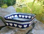 Bowl, 12,5 x 12,5 cm, 5 cm high, White Valentine, BSN R-053