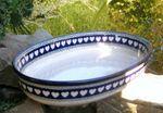 Ovenproof dish, 28 x 20 x 6 cm, White Valentine, BSN R-023