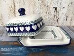 Small butterdish, 15x11x8 cm, White Valentine, BSN R-143 Picture 2
