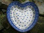 Heart baking tin, 21x18 cm, ↑6 cm, Ivy, BSN J-013