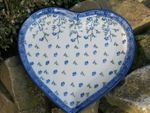 Plate with shape of heart, 23 x 22 cm, Ivy, BSN J-054