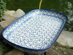Plader, 41 x 26,5 x 3 cm, Polsk Keramik retter, Tradition 33, BSN J-516 Billede 2
