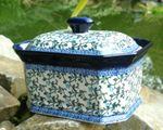 Boîte de gâteaux secs, 17x12x11,5cm, Tradition 33, BSN J-522