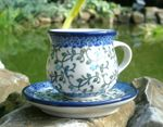 Espresso cup and saucer 70 - 80 ml - Tradition 33, BSN J-565