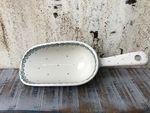 Skovl, Polsk Keramik retter, 22 cm, White Valentine, BSN J-1002 002